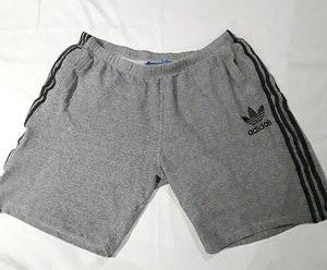 Adidas XXL Vtg Trefoil Knit Gym Shorts